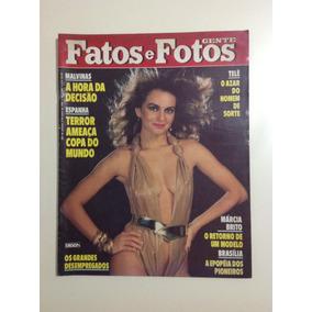 Revista Fatos E Fotos Xuxa Lucinha Lins Copa Da Espanha 1982