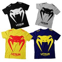 Kit 10 Camisetas Pretorian Venum Jaco Bad Boy Jiu Jitsu Mma