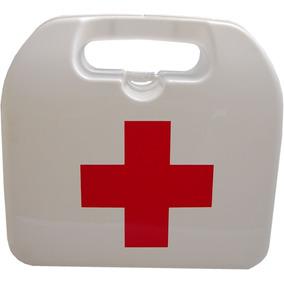 Botiquín Portátil Con Sticker Cruz Roja