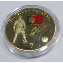 Super Ganga, Moneda De Cristiano Ronaldo Con El Real Madrid