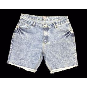 Short Feminino Jeans Plus Size Pequeno Defeito 48 Ao 56 6000