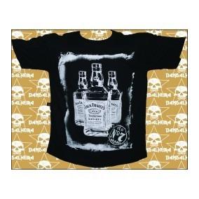Camiseta De Banda Jack Daniels
