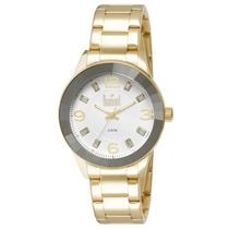 Relógio Dumont Feminino Splendore Du2036ltr/4k Dourado