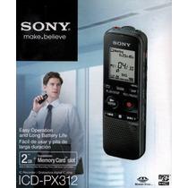 Gravador Digital Voz Sony Px312 Na Caixa Grava Até 4 Dias