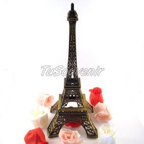 Torre Eiffel 18 Cm Centros De Mesa Casamientos Bodas 15 Años