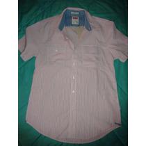 Camisa Levi´s Alrich Rayada Hombre..importada!talle M C/etiq
