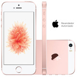 Smartphone Celular Iphone Se 64gb Dual Core Ouro Rosa 1 Chip