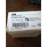 Contactor Abb A-12da-30-10 Bob.220vca Con Relevo 4-6,5amp