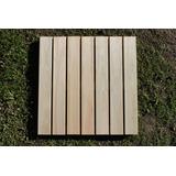 Baldosas De Deck Eucaliptus Grandis Premium Dir. Fab. 50x50