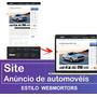 Site Clone Webmotors - Criação Personalizada