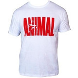 Camiseta Animal (branca) Universal Nutrition - G