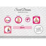 Stickers De Barbie Cortados Para Candy Bar O Mesa Dulce