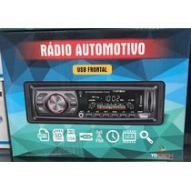 Auto Radio Mp3 Player Som Automotivo Usb Sd Toca Fm Qq Carro