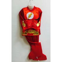 Disfraz Niño Traje De Liga De La Justicia Flash $20.000
