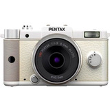 Cámara Pentax Pentax Q 12.4 Megapixel (kit Body Y Lente)