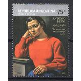 Argentina 2005 Gj 3424** Mint Antonio Berni Pintura Arte