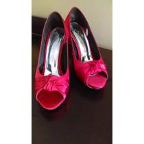 Zapatos Y Botas De Mujer, Talla 38 Perú, Taco 9cm.