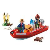 Playmobil Wild Life Bote Inflable Con Exploradores Art. 5559