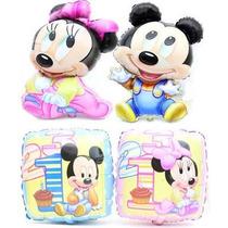 Paquete De 11 Globos Mickey Bebe