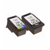 Pack Tinta 146xl 145xl Alternativa Canon Ip2810 Mg2410 2910