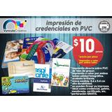 Impresión Gafetes Credenciales En Pvc A Color Calidad Foto