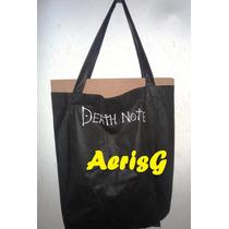 Arg Genial Bolsa De Compras Con Forma Death Note Anime Mmu