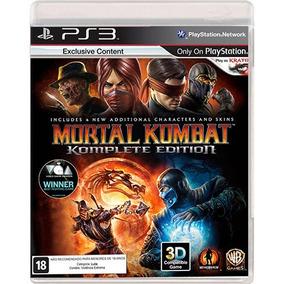 Mortal Kombat 9 Komplete Edition Ps3 Novo Midia Fisica Pt-br