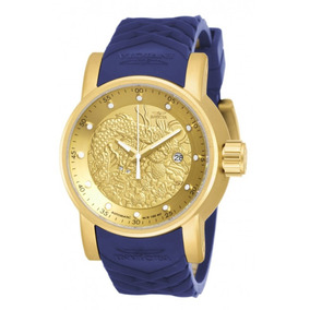 Relogio Invicta 18215 Yakuza S1 Dragon Rally Gold 11 Anos Ml