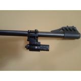 Mira Laser + Borboleta Abraçadeira Para Arma Sem Trilho