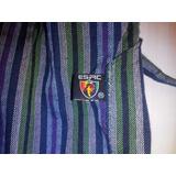 Pantalon Artesanal Esrc De Algodon Tipo Bali T10 Rayado