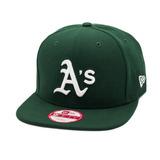 dba6bbaf039e4 Boné New Era Strapback Original Fit Oakland Athletics Verde