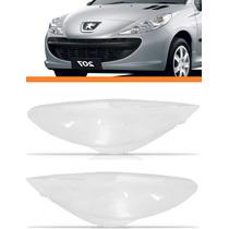 Lente Farol Peugeot 207 2009 10 11 12 13 2014 Par