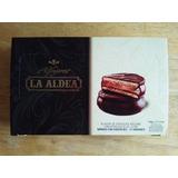 Alfajores La Aldea Bañado Con Chocolate Negro