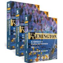Remington - A Ciência E A Prática Da Farmácia Vol. 1, 2 E 3.