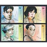 Argentina 2002 Gj 3241/44** Mint Personalidades Actores Arte
