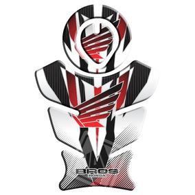 Protetor Tanque E Boca Honda Bros/xre/tornado Bros Vermelho
