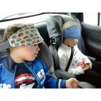 Faixa Apoio Cabeça Bebe Criança No Carro Cadeirinha Viagem