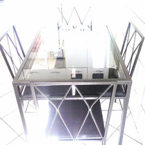 Mesa Tubo Ferro Design Marcos Sobral Feita Em Oficina