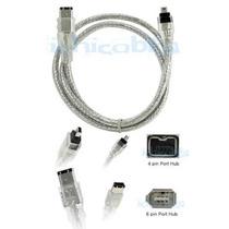 Firewire Cable Dv Videocámara Canon Jvc Sony De Sharp