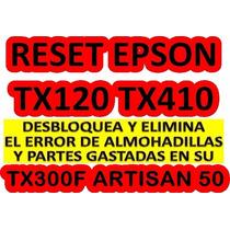 Reset Epson Workforce30 Tx300f Artisan50 Nx400 Cx9300f