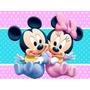 Kit Mickey Y Minnie Bebes Cotillon Cumpleaños Infantiles