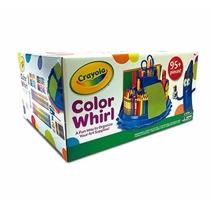 Crayola, Organizador Giratorio Con Accesorios De Arte (azul)