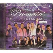Cd Promessas Sertanejas - Playback - Novo***