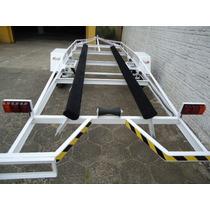 Reboque Para Barco De Aluminio Em Até 18 Vezes