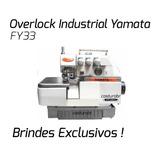 Máquina De Costura Industrial Overlock Yamata Fy33