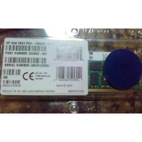Memoria Servidores Hp 8gb 2rx4 Pc3l - 10600r - 9kit Proliant