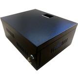 Rack Gabinete Seguridad Dvr Y Redes Cctv 17*40*33 Metálico