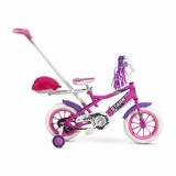 Bicicleta Infantil Stark Chikys 6067 Rod 12 Manija Rosa