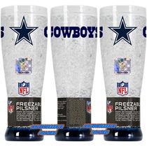 Nfl Yarda Gel Congelable Dallas Cowboys Vaqueros Vaso Freez