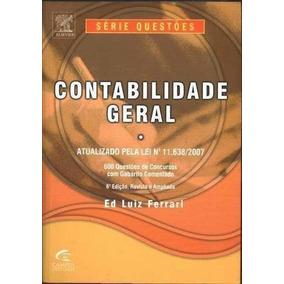 Livro Contabilidade Geral 6ª Edição Ed Luiz Ferrari